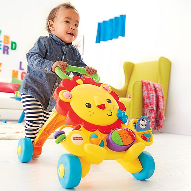 Fisher-Price Musical Lion Walker - Babybliss