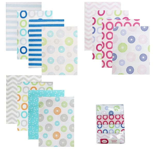 luvable-friends-4-pieces-lot-baby-receiving-blankets-100-flannel-cotton-newborn-baby-bedding-product-children