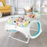 Fisher-Price Infant-to-Toddler Rocker, Geo Multicolor