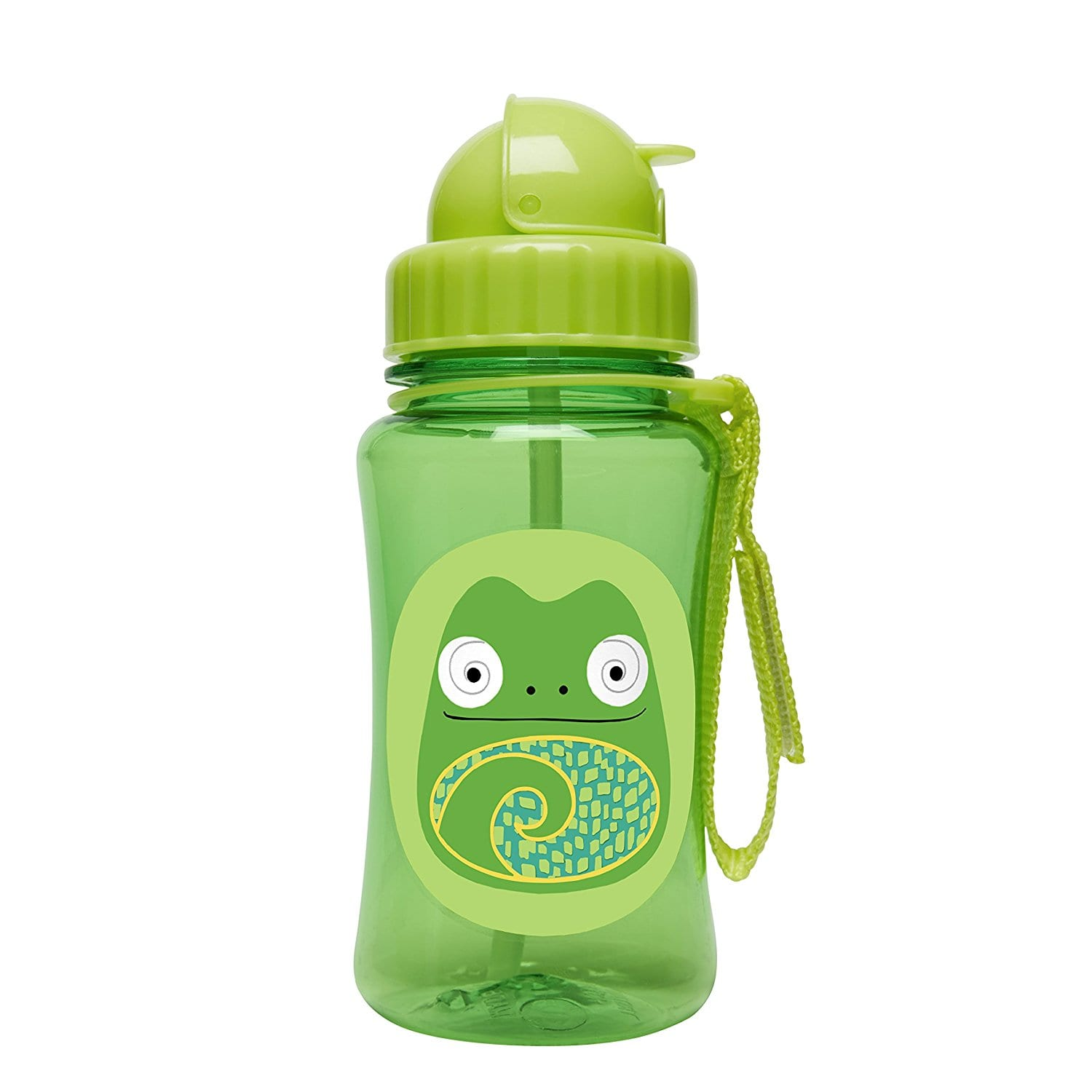 Skip Hop Zoo Straw Bottle 12months+ (Chameleon) | Babybliss