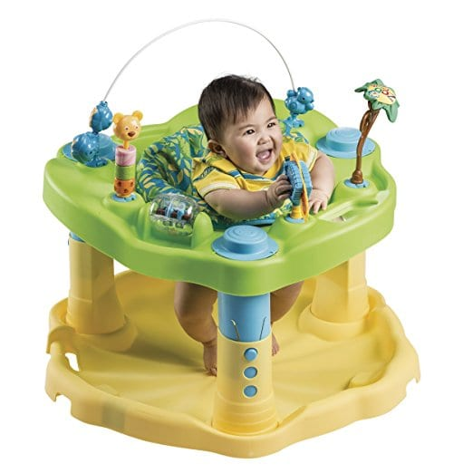Evenflo Exersaucer Bounce And Learn Activity Centre Zoo