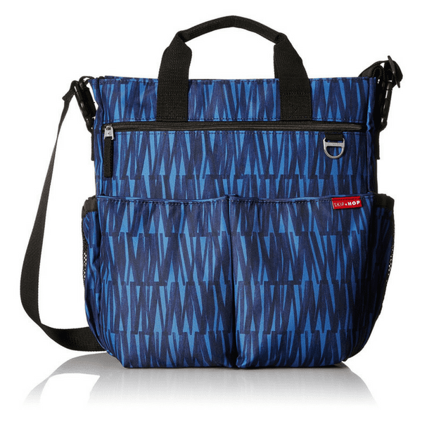 537d04e05ce Skip Hop Duo Signature Carry All Travel Tote with Multipockets -Blue  Graffiti ...