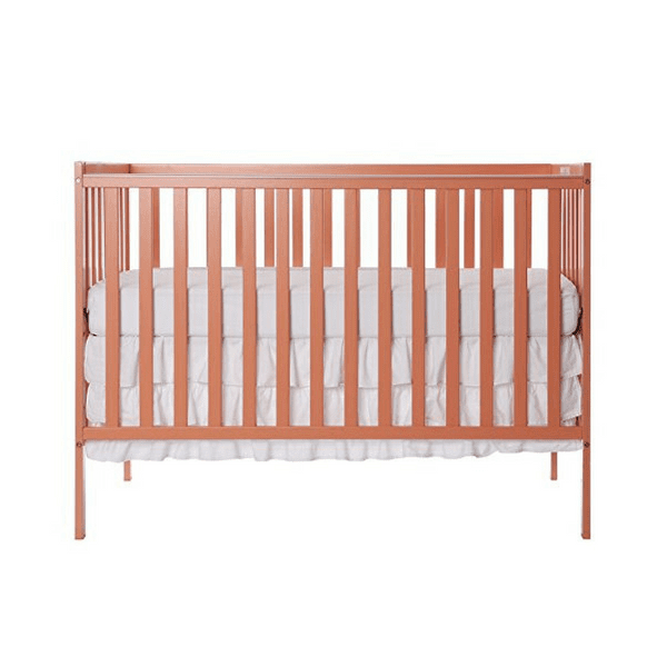 Dream On Me Synergy 5 In 1 Convertible Crib Coral Babybliss