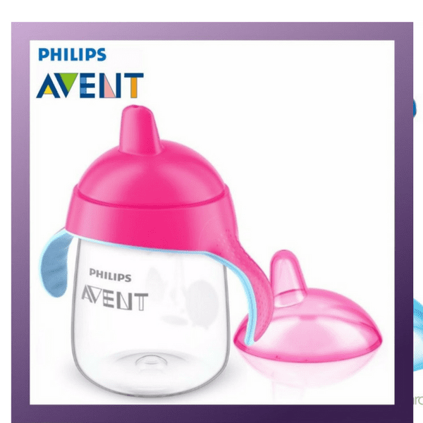 Philips Avent My Penguin Sippy Cup Pink 12 Ounce 18m