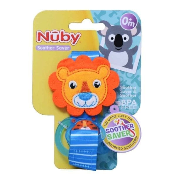 Nuby Soother Saver - Lion