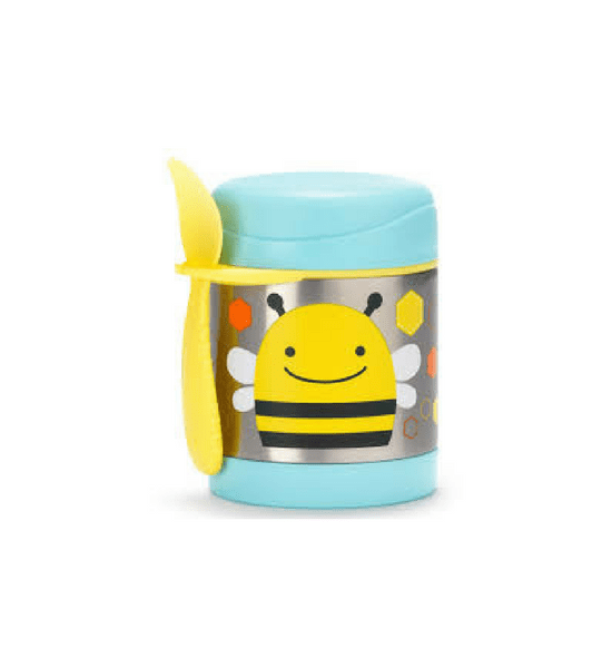 Zoo Insulated Little Kid Food Jar - Bee