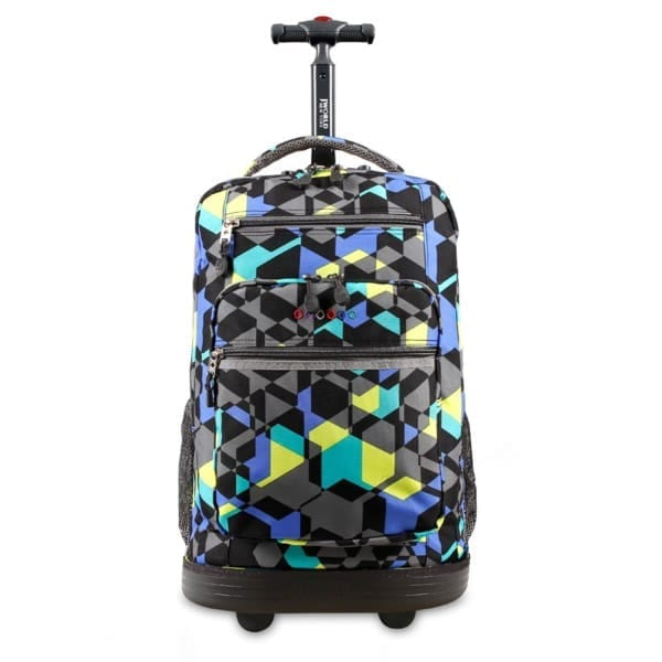 J World New York Sundance Rolling Backpack - Cubes  29c39cf81db5f