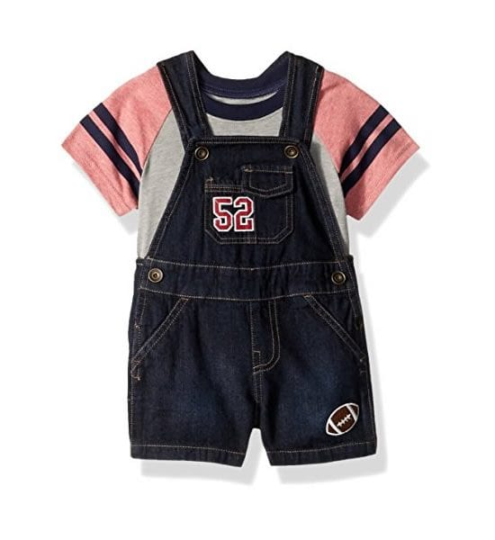 The Children's Place Baby Boys' Shortfall Classicred 3-6Months