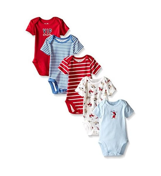 The Children's Place Baby Boys' Short Sleeve Bodysuit 0-3Months