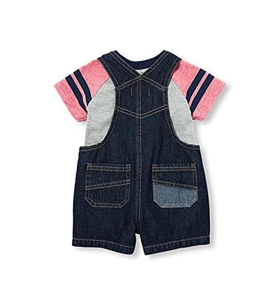 The Children's Place Baby Boys' Shortfall Classicred 0-3Months