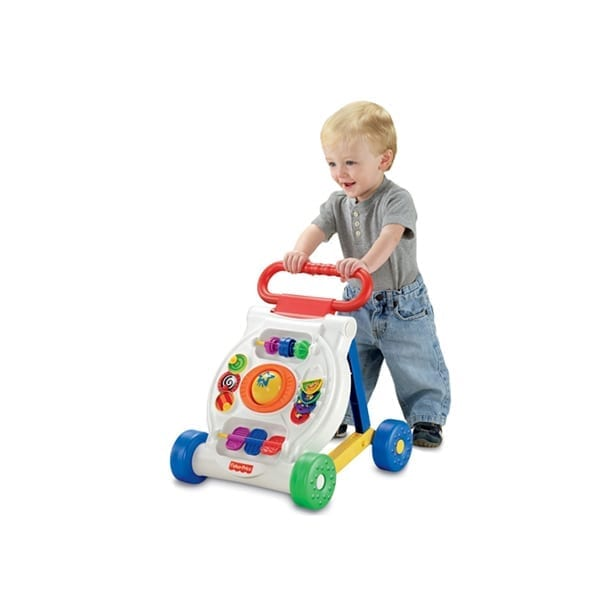 Fisher-Price Activity Walker convertible to a gaming board