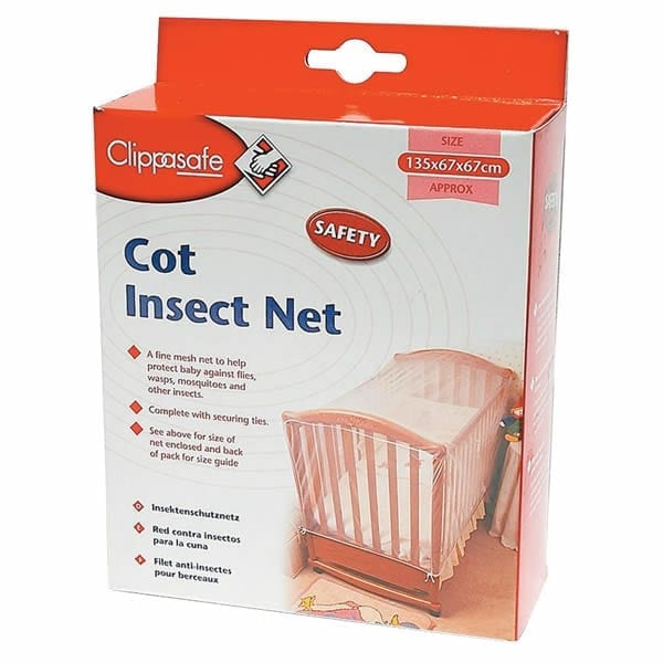 Clippasafe Cot Insect Net Babybliss