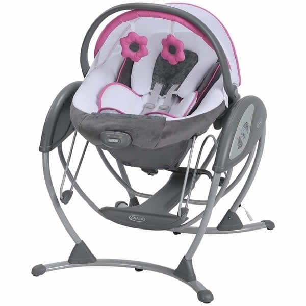 c5799d671 Graco Glider Elite Gliding Swing and removable Bouncer