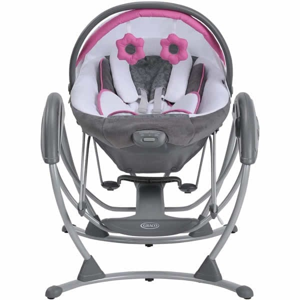 Graco Glider Elite Gliding Swing And Removable Bouncer