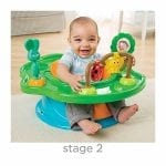 Summer Infant 3-Stage SuperSeat, Forest Friends - Neutral