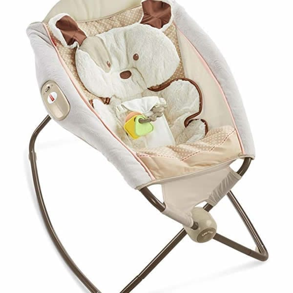 Fisher Price Deluxe Rock N Play Sleeper My Lil Snug A Puppy Babybliss