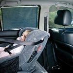 Dreambaby Extra Wide Car Window Shade, Black, 2 Pack