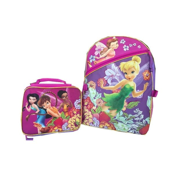 Disney Fairies Back Pack with Lunch kit