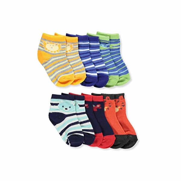 Zack and Zoey 6 pair Anklet Socks - ZY8054