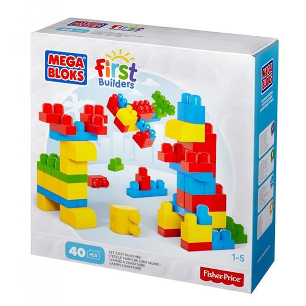 Mega Bloks Let's Start Building 40 pieces
