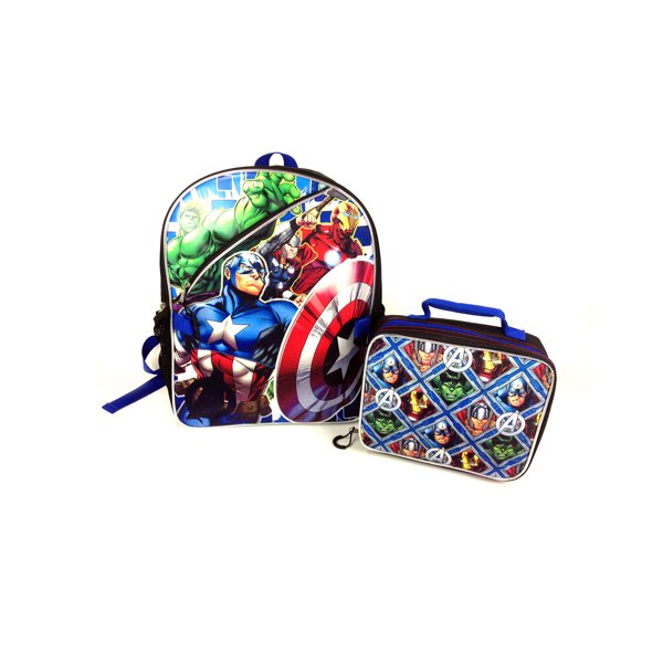 Avengers Assemble Back Pack and Lunch Kit