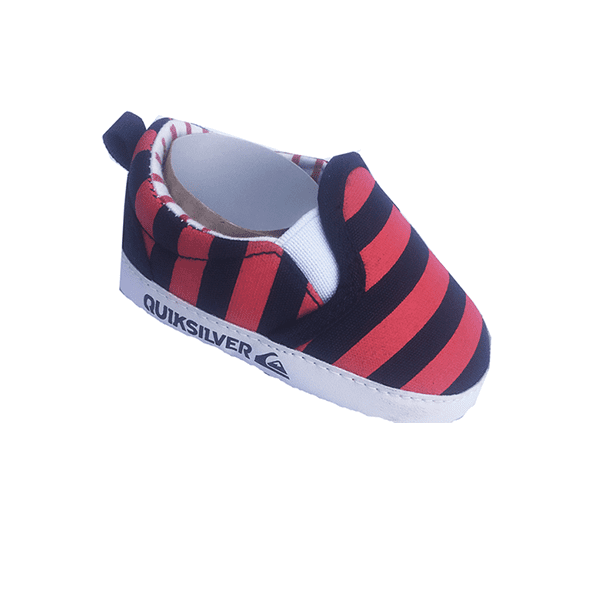 Quick Silver Baby Boys Shoe -Red 6/9 Months