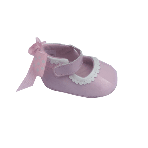 Gerber Baby Girls Pink and White Shoe GGD01179