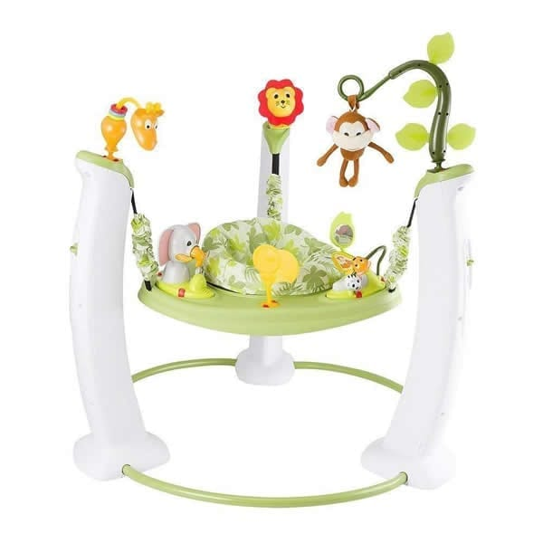 Evenflo Exersaucer Jump Amp Learn Stationary Jumper Safari