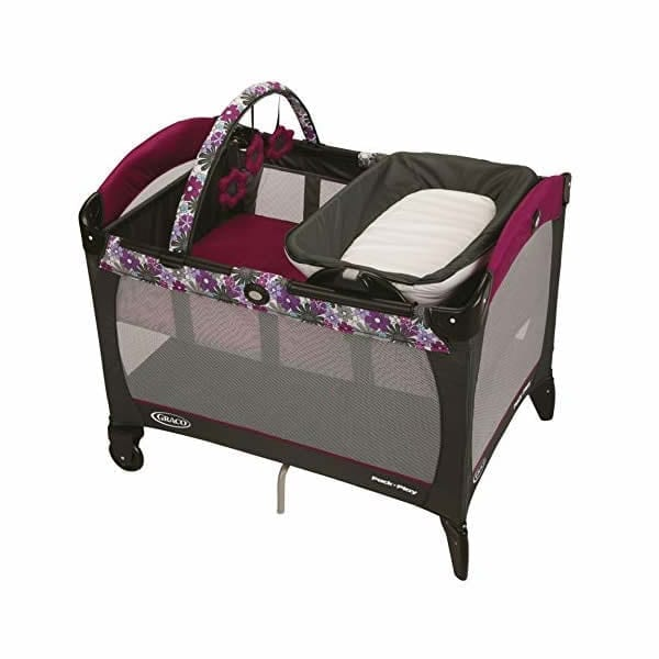 Graco Pack 'n Play Playard with Reversible Napper and Changer, Portia