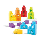 Mega Bloks Build and Learn Bags Assortment - 21 Pieces