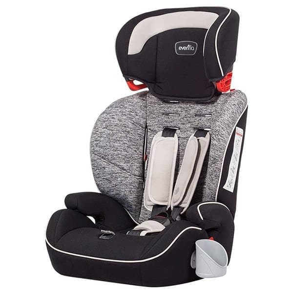 Evenflo - Sutton 3-In-1 Booster Car Seat - Black Granite - E7HH