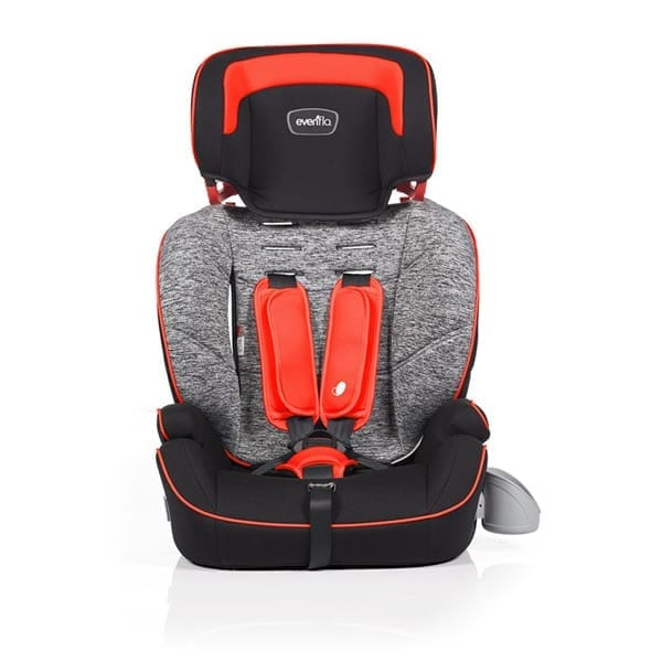 Evenflo - Sutton 3-In-1 Booster Car Seat - Red Granite - E7RR