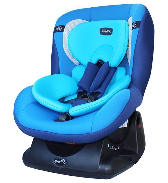 Evenflo – Erta+ Convertible Car Seat – Sea Blue (E7BE-B)