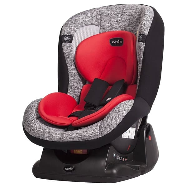 Evenflo - Erta+ Convertible Car Seat - Moonfire/Red (E7GR-B)