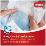 Huggies Diaper Snug & Dry Diapers Size 5 (160 Pcs)