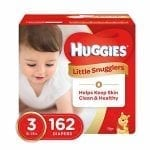 Huggies Little Snugglers Diapers Size 3 (162 Pcs)