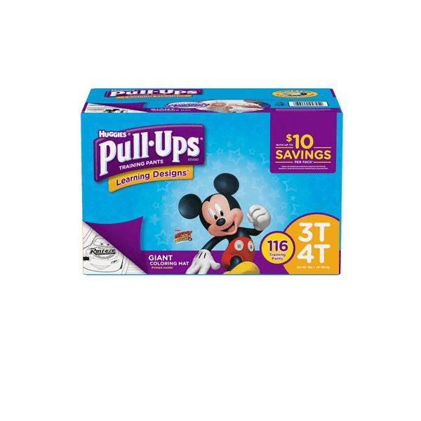 Huggies Pull-Ups Training Pant 3T-4T (116 Counts)