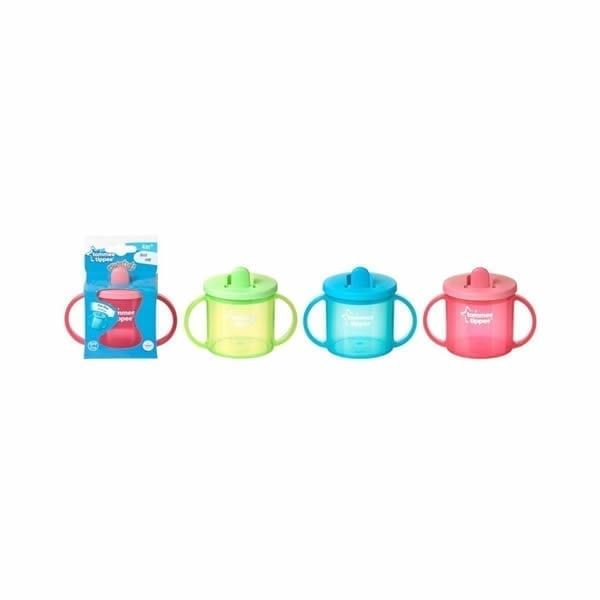 Tommee Tippee Essentials FreeFlow First Cup 190ml 4m+(Colour May Vary)