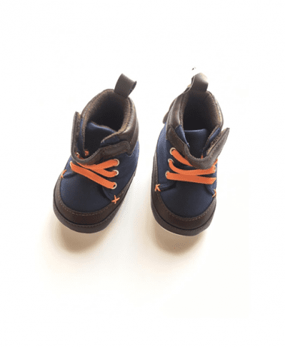 First Steps Baby Boy High -Top Sneaker