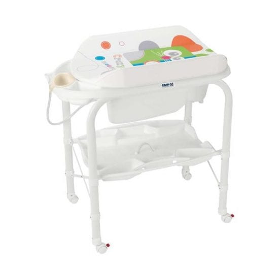 CAM Standing Baby Bath with Changer CAMBIO, CAM Standing Baby Bath with Changer CAMBIO, cam baby bath, baby bath