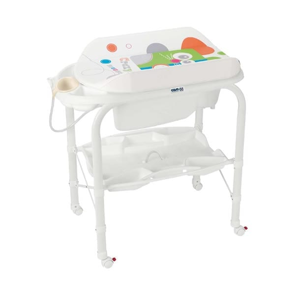 Cam Standing Baby Bath With Changer Cambio Babybliss
