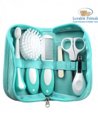 Luvable Friends Grooming Kit Green, luvable friends, grooming kit