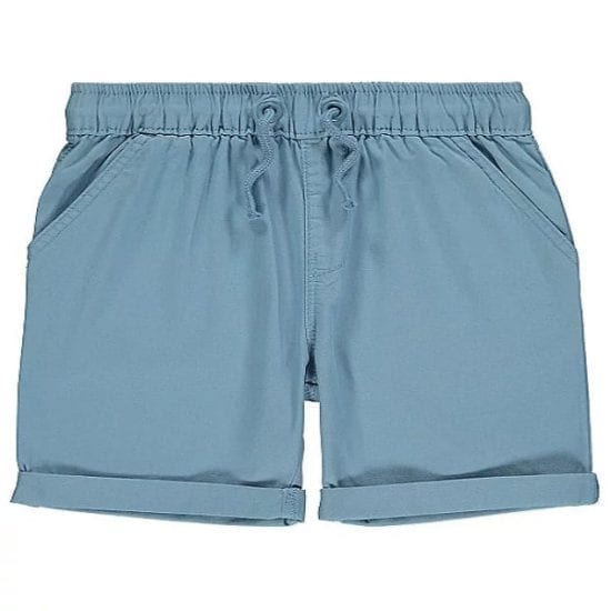 George Pale Blue woven shorts