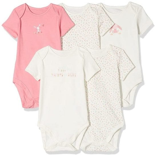 Mothercare girls bodysuits