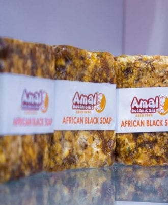 Buy Amal Botanica Pure African Black Soap online | BabyBliss Nigeria