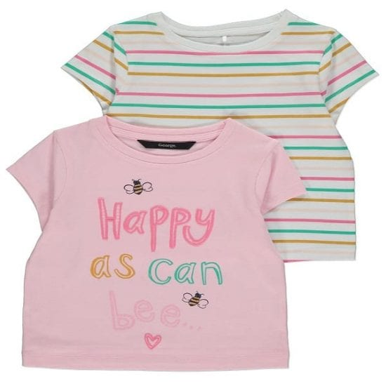 Buy George Baby Girls T-Shirts Online | BabyBliss Nigeria