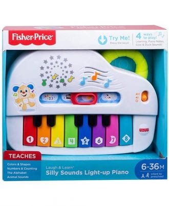 Fisher-Price Laugh and Learn Silly Sounds Light Up Piano
